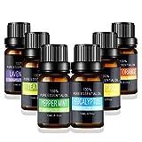 Aceites Esenciales de Aromaterapia - Pesoo 100% de Aceite Esencial Natural Conjunto de Difusores y...