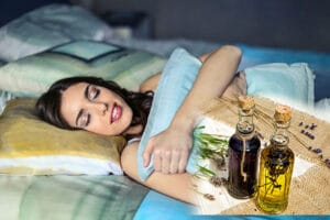 Mujer-Durmiendo-Profundamente