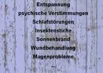 Áreas de aplicación de lavanda 空 Dr. Schweikart Verlag