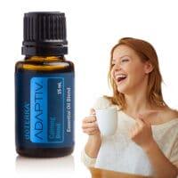 mujer feliz con adaptiv