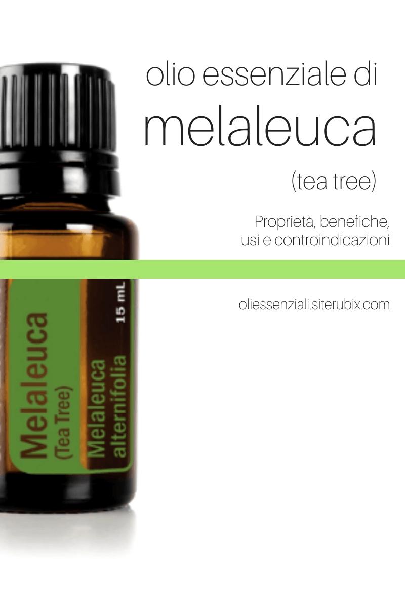 Aceite esencial de melaleuca Beneficios