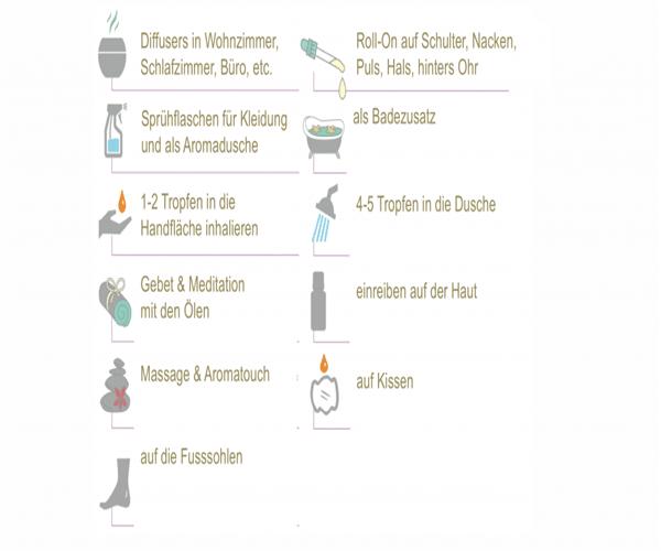 El uso de aceites esenciales curativos